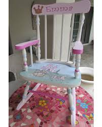 White Rocking Chairs For Nursery Sweet Deal On Princess Rocking Chair Nursery Furniture