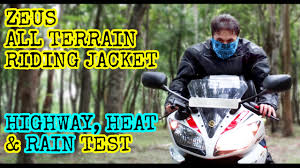 all black motorcycle jacket zeus all terrain riding jacket highway heat u0026 rain test