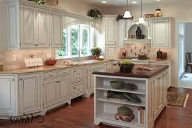 home design cabin country style kitchen cream cabinets