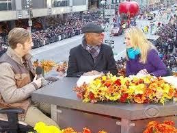 the thanksgiving day parade on cbs dan downton