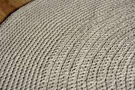 Organic Wool Rug Organic Rug Linen Crochet Rug Flax Linen Carpetfloor