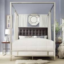 bedroom canopy for bedroom amazon com leann graceful scroll iron