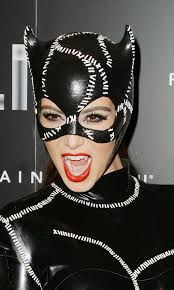 catwoman halloween costume mask kim kardashian cat woman costume at halloween party 28 gotceleb
