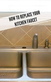 changing kitchen faucet do yourself change a bathtub faucet bathtubs faucet and house