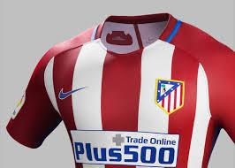 atlético de madrid home and away kits 2016 17 nike news