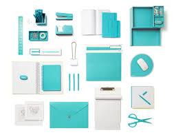 Chevron Desk Accessories Poppin Aqua Desk Accessories Modern Office Supplies Workhappy