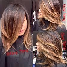 Frisuren Mittellange Haare Einfach by 24 Wunderschöne Mittellange Frisuren Mit Balayage Und Ombre
