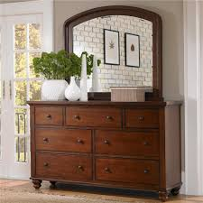 Mirror Chest Of Drawers Aspenhome Cambridge 7 Drawer Double Dresser U0026 Mirror Combo Royal