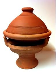 cuisiner avec un tajine en terre cuite 2set tajine marocain tuareg 30cm rechaud majmar artisanat