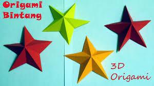 cara membuat origami hello kitty 3d origami bentuk bintang kecil origami 3d gifts