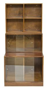 antiques bazaar bookcases art deco stacking modular bookcase