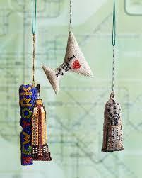 sudha pennathur new york city ornaments 3 set