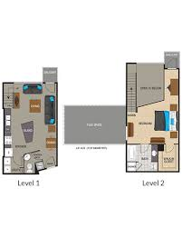 luxury floor plans the mondrian at cityplace uptown dallas tx