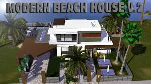 the sims 3 modern beach house v 2 hd youtube