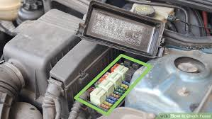 how to check fuses with pictures wikihow