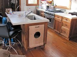 rick samish custom cabinets in beach cottage
