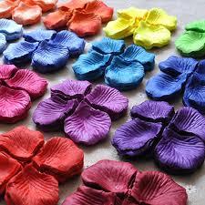 silk petals 500pcs table confetti decoration silk petals artificial