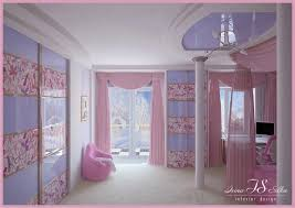 Pink And Teal Curtains Decorating Bedroom Stunning Bedroom Decoration With Pink And