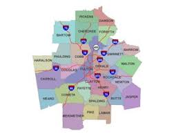 map of atlanta metro area atlanta estate search all atlanta metro area homes