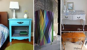 27 cool diy furniture makeovers with wallpaper amazing diy