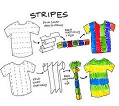make a striped tie dye shirt u2014 crafthubs