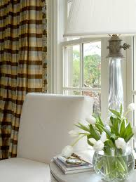 Brown And White Striped Curtains Alluring Gray And White Striped Curtains And Best 25 Horizontal