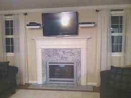 fireplace simple tv mount fireplace cool home design simple and
