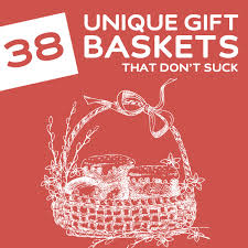 great 38 unique gift baskets that dont dodo burd about unique