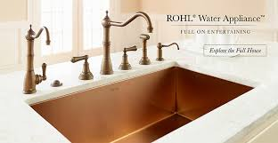 Kitchen Faucets Sacramento by Rohl Home Bringing Authentic Luxury To The Kitchen And Bath