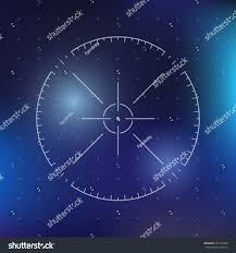 target black friday element scifi futuristic crosshair user interface techno stock vector