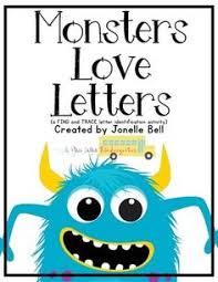 monster match up freebie alphabet matching center this freebie