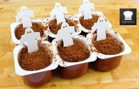 graveyard custard cups halloween recipe youtube
