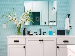 Aqua Bathroom Tiles 9 Bold Bathroom Tile Designs Hgtv U0027s Decorating U0026 Design Blog Hgtv