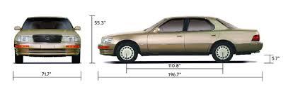lexus ls400 1990 lexus ls400 history