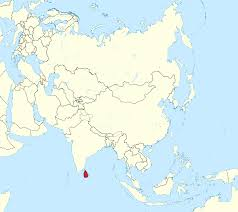 Map Of Sri Lanka File Sri Lanka In Asia Mini Map Rivers Svg Wikimedia Commons