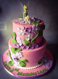 tinkerbell cake tinkerbell cake but purple with pink flowers kenna purple