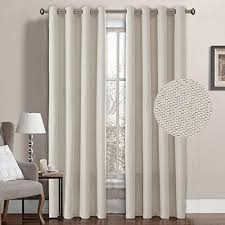 Brown And Ivory Curtains Extra Long Blackout Curtains Amazon Com