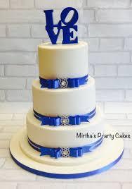 wedding cake royal blue royal blue ivory wedding cake cake by mirtha s p arty cakes