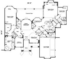 european style house plan 5 beds 5 00 baths 5500 sq ft plan 135 103