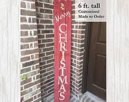 Outdoor Christmas Decorations Northern Ireland by Christmas Door Decor Etsy