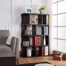 baxton studio lindo bookcase single pull out shelving cabinet baxton studio lindo dark brown wood bookcase with one pulled out