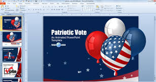 Independence Day Powerpoint Templates For July 4th Great Power Point