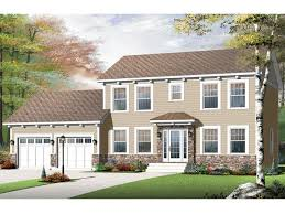 colonial house plans two story colonial home plan 027h 0340 at