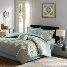 amazon com maya 6 piece comforter set grey queen home u0026 kitchen