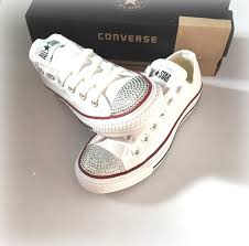 converse designer chucks schuhe all rhinestone converse shoes s bling converse shoes