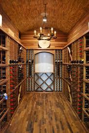 Wine Cellar Chandelier Barrel Ceiling Wine Cellar Traditional With Wine Rack Chandelier