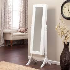jewelry armoire full length mirror full length mirror wall jewelry armoire