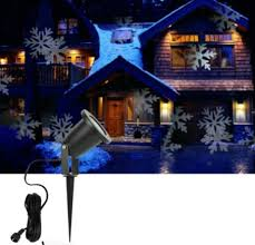 Outdoor Snowflake Lights Christmas Light Projector For Decorating Outdoors
