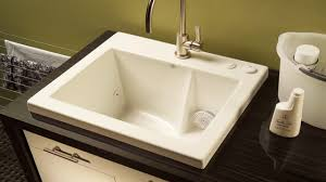 laundry room sink with jets befon for