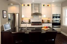 trendy black glass tile countertops kitchen island with sink also
